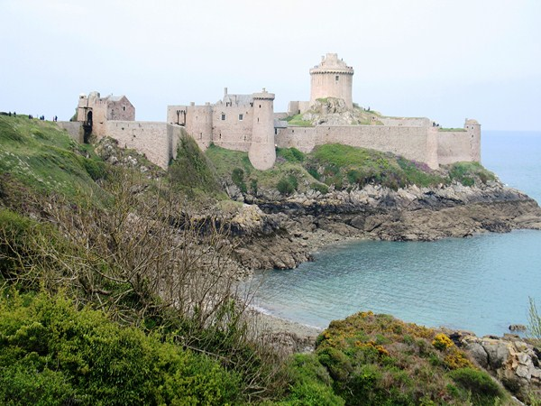 fort de la latte brittany emerald coast France